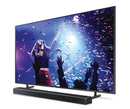Save up to 40% when you buy a TV and soundbar bundle