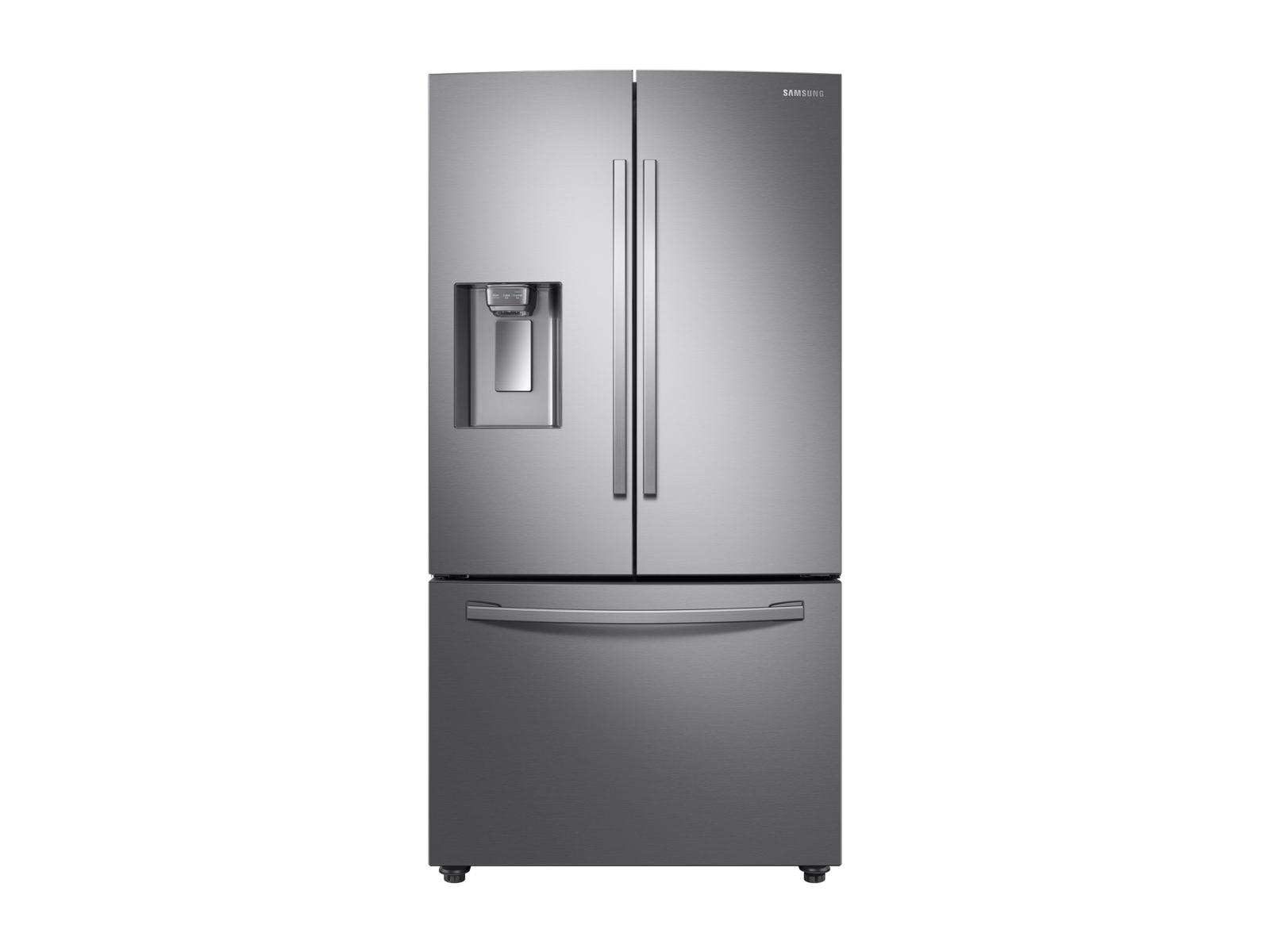 Large Capacity 3-door Refrigerator + Gas Range + StormWash Dishwasher + Microwave Kitchen Package in Stainless Steel