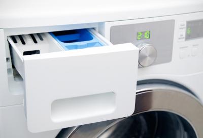 Detergent, Bleach, Softener, or Water Remains in the Detergent Drawer