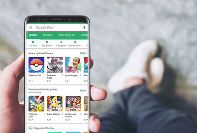 Use Google Play Store on a Phone or Tablet