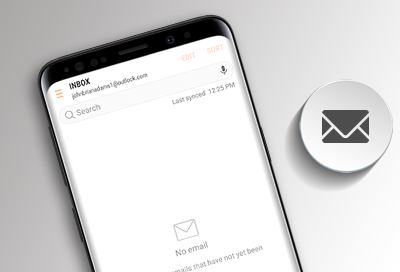 Add or Remove an Email Account on a Phone