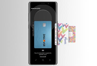 Register eBay Gift Cards in Samsung Pay