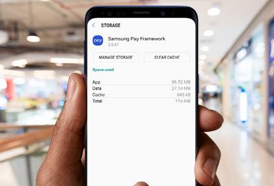 Reset Samsung Pay