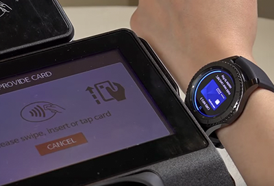 Delete Samsung Pay Cards from the Gear