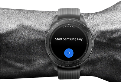 Set Up Samsung Pay on the Watch
