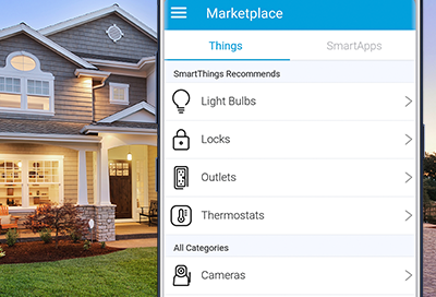 Marketplace in SmartThings Classic