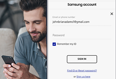 Sign Up for a SmartThings Account